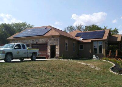 SunPower Residential Home Solar Array in Gardner, Kansas