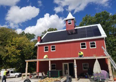 SunPower Residential Home Solar Array in Wright City, Missouri