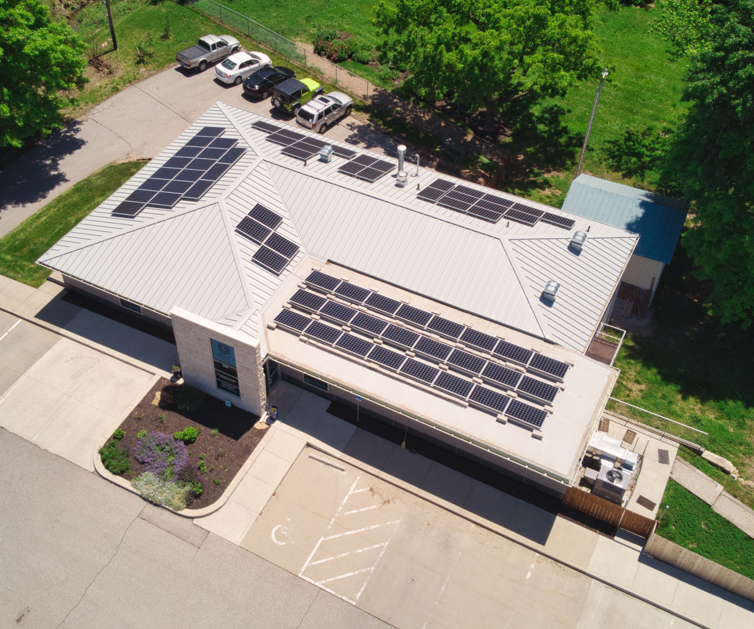 Lawrence Commercial Solar Installation