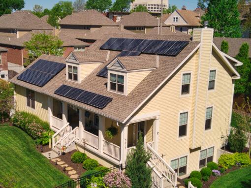 8.99kW Residential Solar in Kansas City, Missouri