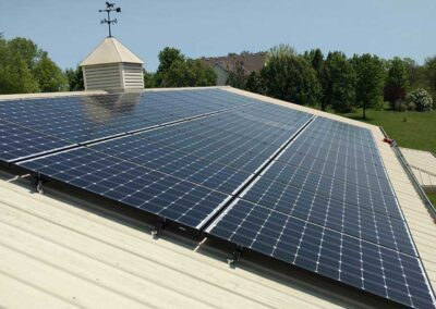 9.57kW Home Solar Array In Excelsior Springs, Missouri