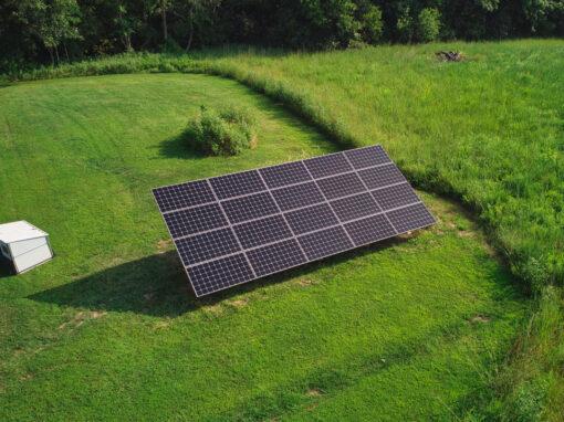 8 kW Residential Solar Installation in Lecompton, Kansas