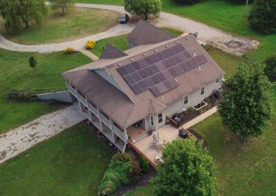 12.753 kW Residential SunPower Solar Installation in Lawrence, Kansas