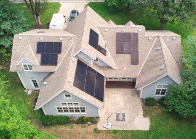 9.8 kW Residential SunPower Solar Installation in Fairway, Kansas