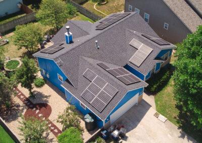 11.02 kW Residential Solar Installation in Lawrence, Kansas