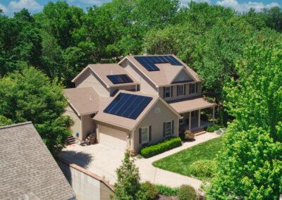 8.04 kW Residential SunPower Solar Installation in Lawrence, Kansas
