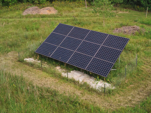 3.924 kW Residential SunPower Solar Installation in Lawrence, Kansas