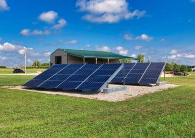 9.36 kW Residential Solar Installation in Lawrence, Kansas