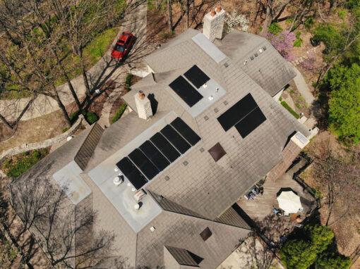 8.4 kW Residential SunPower Solar Installation in Lenexa, Kansas