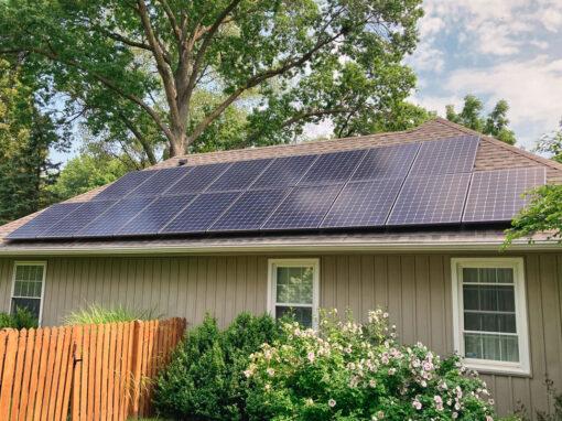 8.829 kW Residential Solar Installation in Prairie Village, Kansas