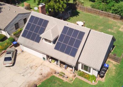 7.848 kW Residential SunPower Solar Installation in Topeka, Kansas