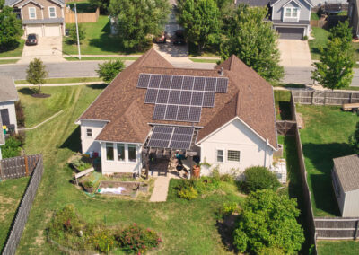 Solar Re-Roof in Gardner, Kansas