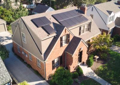 SunPower Residential Home Solar Array in Kansas City, Missouri